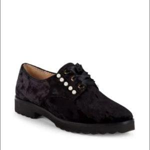 Velvet Karl Lagerfeld shoes